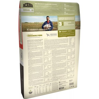 Acana Singles Formula Yorkshire Pork 11.4kg Dog Dry Food