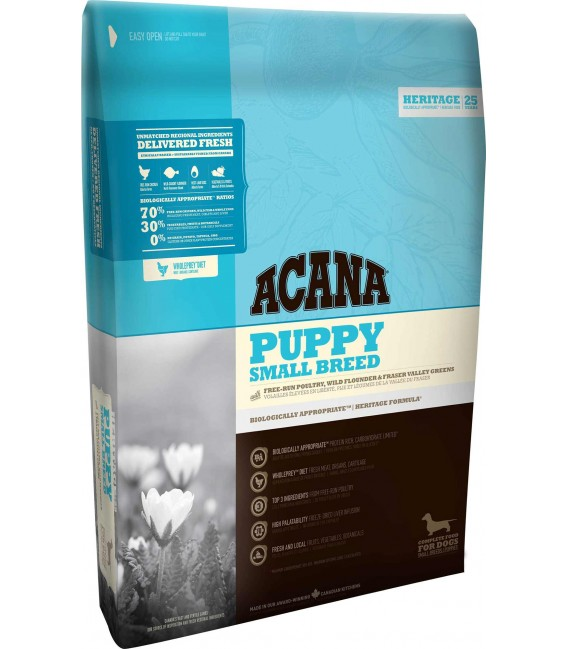 Acana Heritage Formula Puppy Small Breed Dog Dry Food