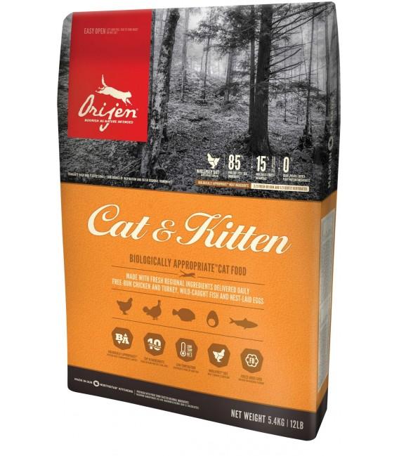 Orijen Cat & Kitten 5.4kg Cat Dry Food