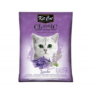 Kit Cat Classic Clump Lavender 7kg Premium Cat Litter