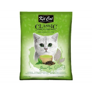 Kit Cat Classic Clump Green Tea Scent 7kg Premium Cat Litter