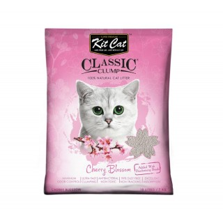 Kit Cat Classic Clump Cherry Blossom 7kg Premium Cat Litter