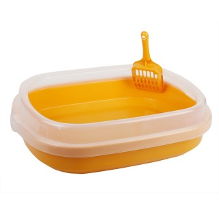 Cat Litter Pan Box with Scoop