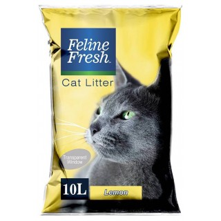 Feline Fresh Lemon Scent 10L Cat Litter
