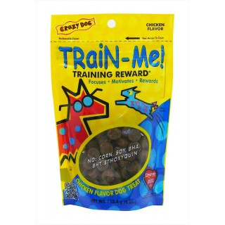 Crazy Dog Train Me Chicken Flavor 113.4g Dog Treats