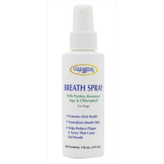 Gold Medal Pets 118ml Dog Breath Spray
