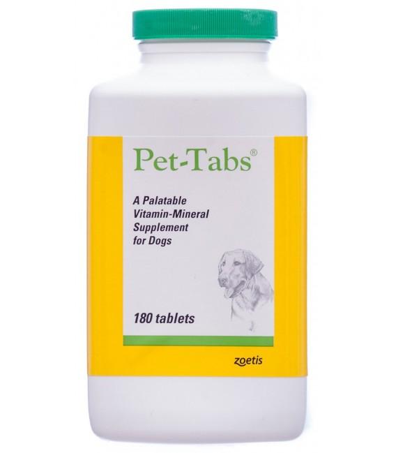 Zoetis Pet Tabs 180 Tablets Dog Supplement