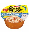 Inaba Chicken Fillet in Gravy Topping Dried Bonito 70g Cat Wet Food