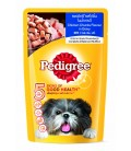 Pedigree Chicken Chunks Flavour in Gravy 130g Dog Wet Food