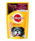 Pedigree Grilled Liver Loaf Flavour with Vegetables 130g Dog Wet Food