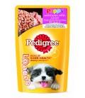 Pedigree Puppy Chicken Chunks Flavour in Gravy 130g Dog Wet Food