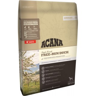 Acana Singles Formula Free-Run Duck Dog Dry Food