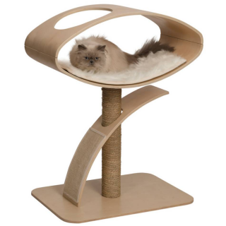 Vesper V-High Lounge in Walnut Cat Furniture