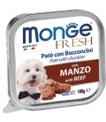 Monge Fresh Pate & Chunkies with Beef 100g Dog Wet Food