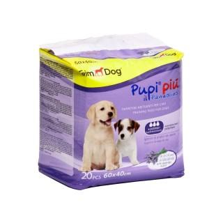 GimDog Pupi Piu with Lavender Scent 60cm x 40cm Training Pee Pad (20 Pads)