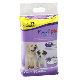GimDog Pupi Piu with Lavender Scent 20 PCS - 60 x 60 Training Pads
