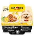 GimDog Fruity Menu Ragout with Tuna, Pineapple & Vegetables 100g Dog Wet Food