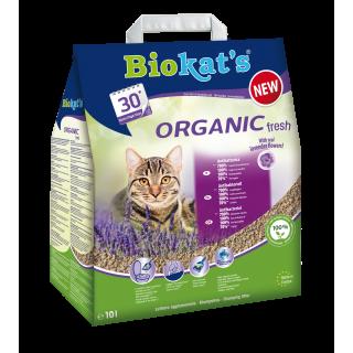 Biokats Organic Lavender 10L Flushable Cat Litter