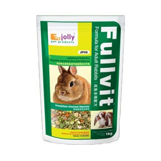 Jolly Fullvit Formula 1kg Adult Rabbit Feed