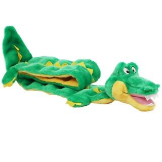Plush Puppies Squeaker Mats Gator Dog Toy