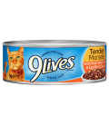 9 Lives Tender Morsels with Real Flaked Tuna & Egg Bits in Sauce 156g Cat Wet Food