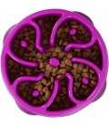 Kyjen Dog Games Slo-Bowl - Flower Purple