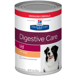 Hill's Prescription Diet Canine Digestive Care i/d with Turkey 370g Dog Wet Food