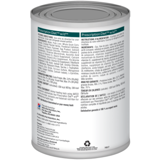 Hill's Prescription Diet Digestive/Weight/Glucose Management w/d with Chicken 370g Dog Wet Food