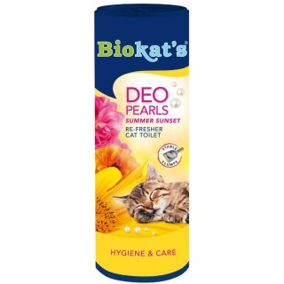 Biokat's Deo Pearls Summer Sunset 700g Cat Toilet Re-Fresher