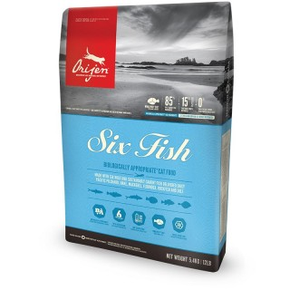 Orijen Six Fish Cat & Kitten Dry Food