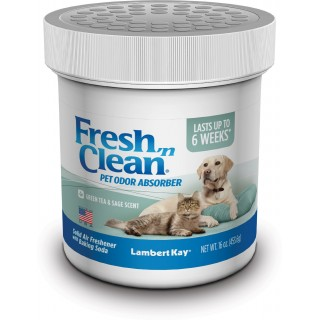 Lambert Kay Fresh 'N Clean Pet Odor Absorber, Green Tea & Sage Scent, 16 oz