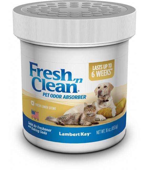 Lambert Kay Fresh 'N Clean Pet Odor Absorber, Fresh Linen Scent, 16oz