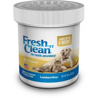 Lambert Kay Fresh 'N Clean Pet Odor Absorber 16oz Fresh Linen Scent