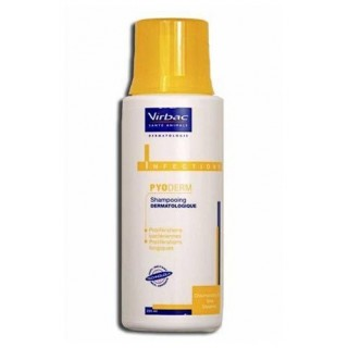 Virbac Pyoderm 200ml Medicated Pet Shampoo