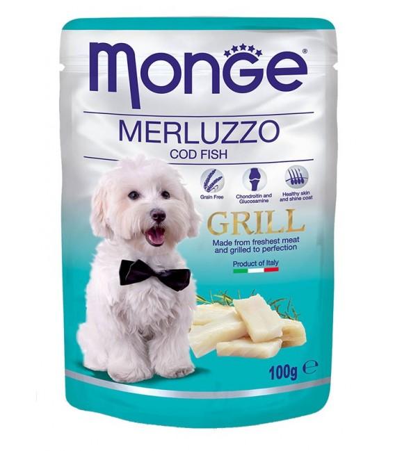Monge Grill COD Fish 100g Dog Wet Food