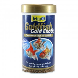 Tetra Goldfish Gold Exotic 250ml Fish Food