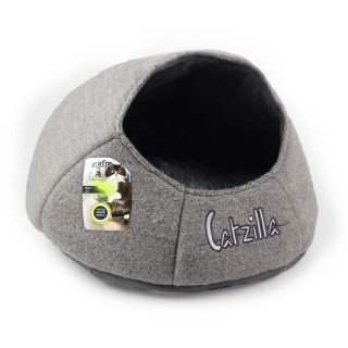 All For Paws CATZILLA NEST Cat Bed - GREY