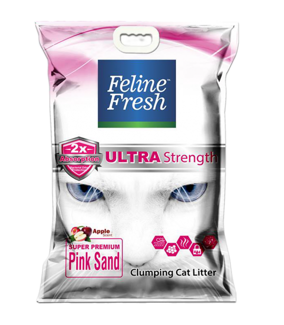Feline Fresh Super Premium Pink Sand 10L Cat Litter