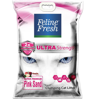 Feline Fresh Super Premium Pink Sand 10L Cat Litter