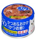 Ciao White Meat Tuna with Dried Bonito in Jelly 85g Cat Wet Food (A-10)