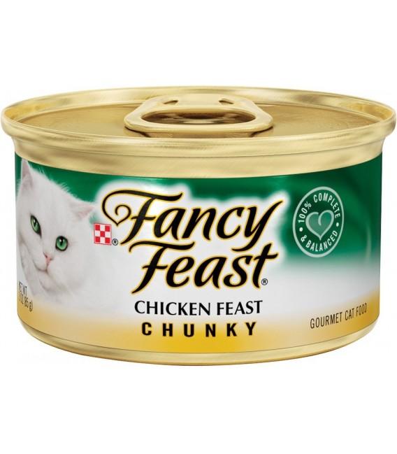 Fancy Feast Chunky Chicken Feast 85g Cat Wet Food