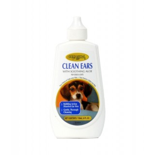 Gold Medal Pets Clean Ears 118ml Pet Ear Cleaner