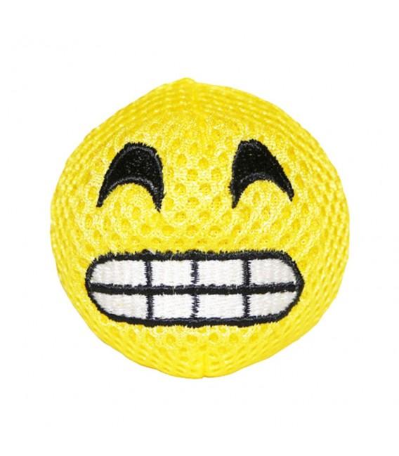 Michiko Emoji Dog Toy (squeaky) - HAPPY
