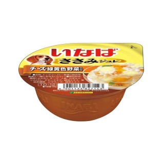 Inaba Dog Jelly Chicken with Cheese 65g Dog Wet Food (TD12)