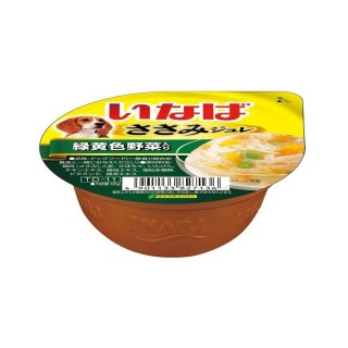 Inaba Dog Jelly Chicken with Vegetables 65g Dog Wet Food (TD11)
