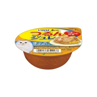 Inaba Soft Jelly Tuna Flake with Chicken 65g Cat Wet Food IMC165