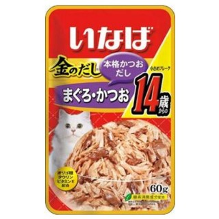 Inaba Jelly Tuna Small Flake 60g Cat Wet Food (TIC-24)