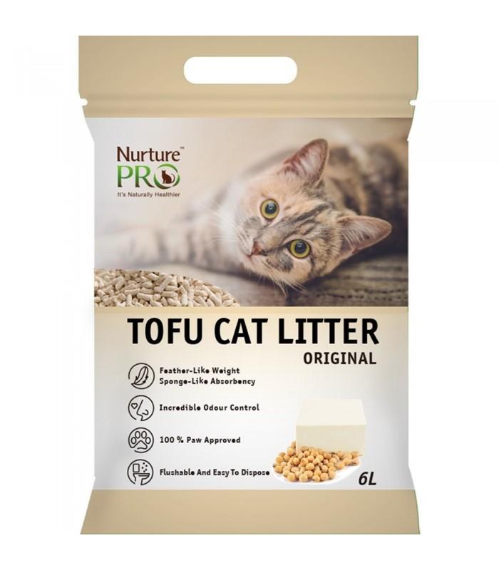 Nurture Pro Original 6l Tofu Flushable Clumping Cat Litter
