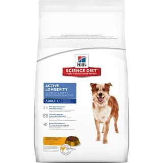 Hill's Science Diet Adult 7+ Active Longevity 15kg Dog Dry Food