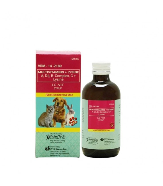 LC Vit Multivitamins Syrup 120ml